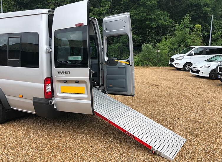 Pre-loved Ford Transit Accessible Wheelchair Minibus